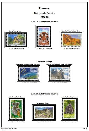 Album Virtuel Et Thematique France Service Catalogues Et Images De Timbres Telechargeables Phila Collector Le Forum